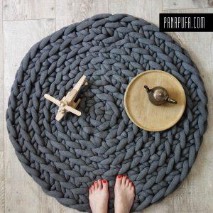 chunky-knit-blanket-tube-cotton-yarn-blanket-rug-nap-mat