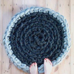 chunky rug
