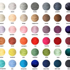 color chart bedcover PANAPUFA