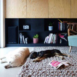 PANAPUFA chunky rug