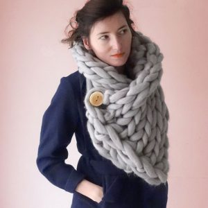 knit scarf snood panapufa