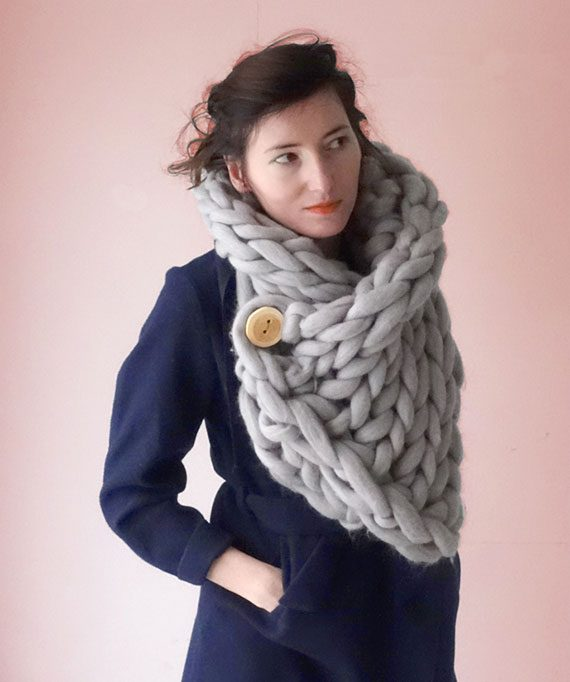 knit scarf snood panapufa