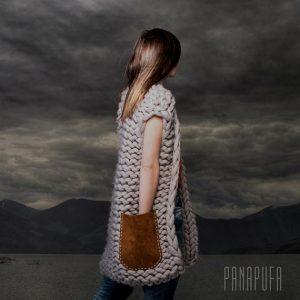 chunky knit vest panapufa