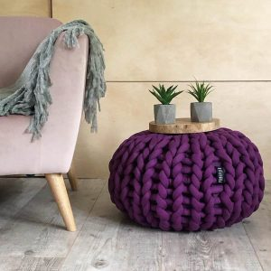 chunky-knit-ottoman-footstool