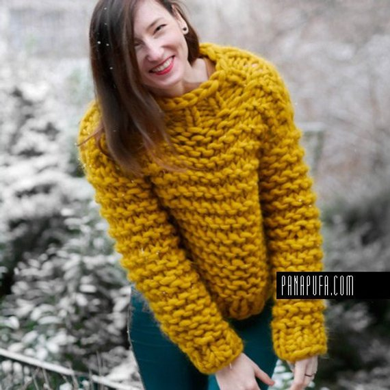 chunky-knit-oversize-merino-sweater-mustard