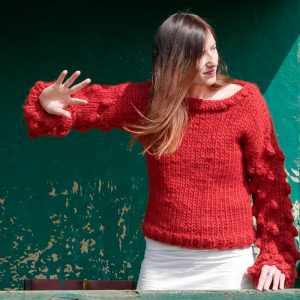 chunky-knit-alpaca-red-bubbles-sweater-raspberry-cardigan-1180580