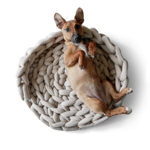 chunky-knit-cotton-crochet-dogs-cats-bed